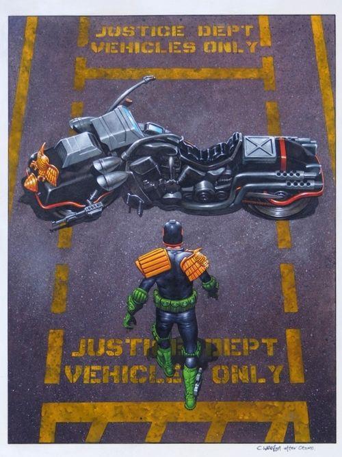 Judge Dredd - Akira Poster Design
