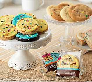 Cheryl's 22 Pc. Birthday Bash Cookie and Brownie Auto-Delivery