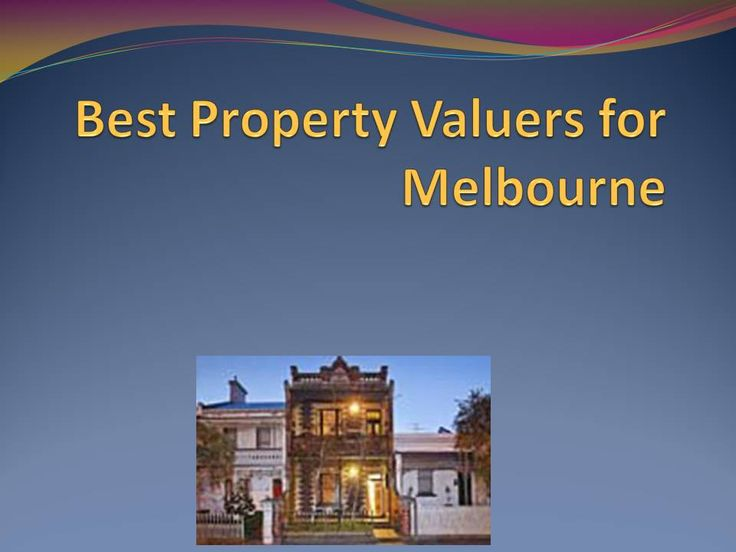 Melbourne Property Valuers we are provide property valuers for client offering by Australian Property Institute for Certified house valuers for you also get the best rates in the market, compared to other firms offering and affordable price at Melbourne.