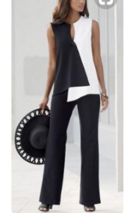 Opposites Attract Pant Suit | Moda de invierno