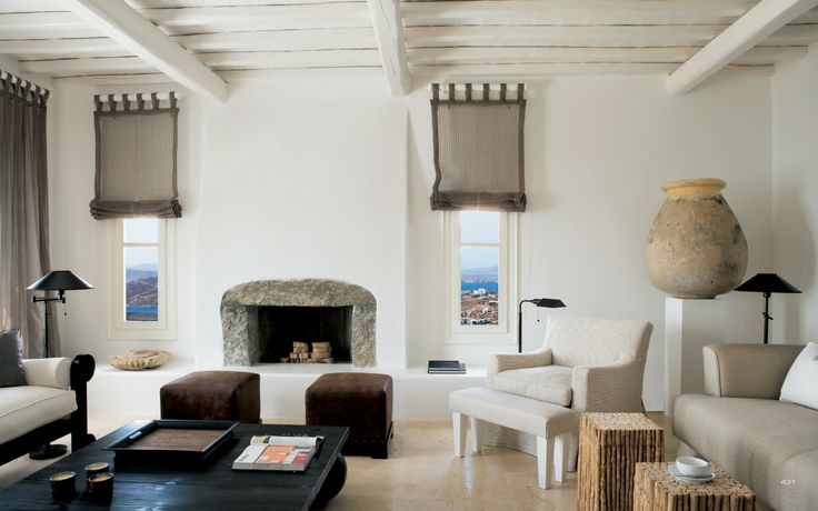 stefano dorata architetto / villa mykonos, mar egeo
