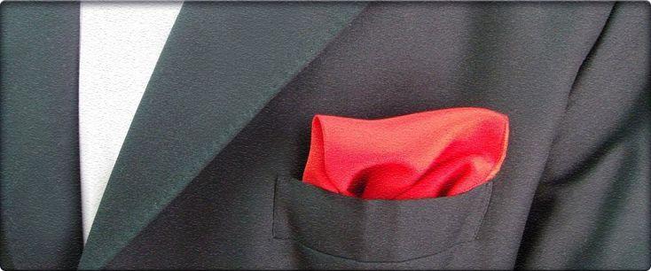 Pañuelos de bolsillo, todo lo que hay que saber - Trajes y camisas a medida