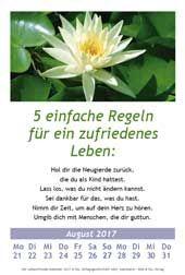 Bestseller Kalender - der Lebensfreude Kalender 2017 - der meistgekaufte und beliebteste Kalender Deutschlands - positiv! aufbauend! stärkend!