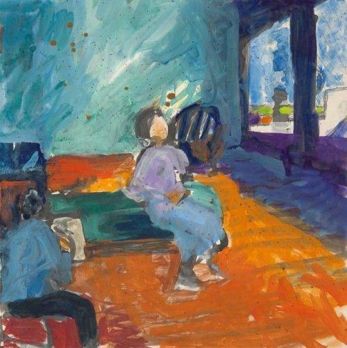 urgetocreate: Richard Diebenkorn, Untitled, ca.1955-60,...
