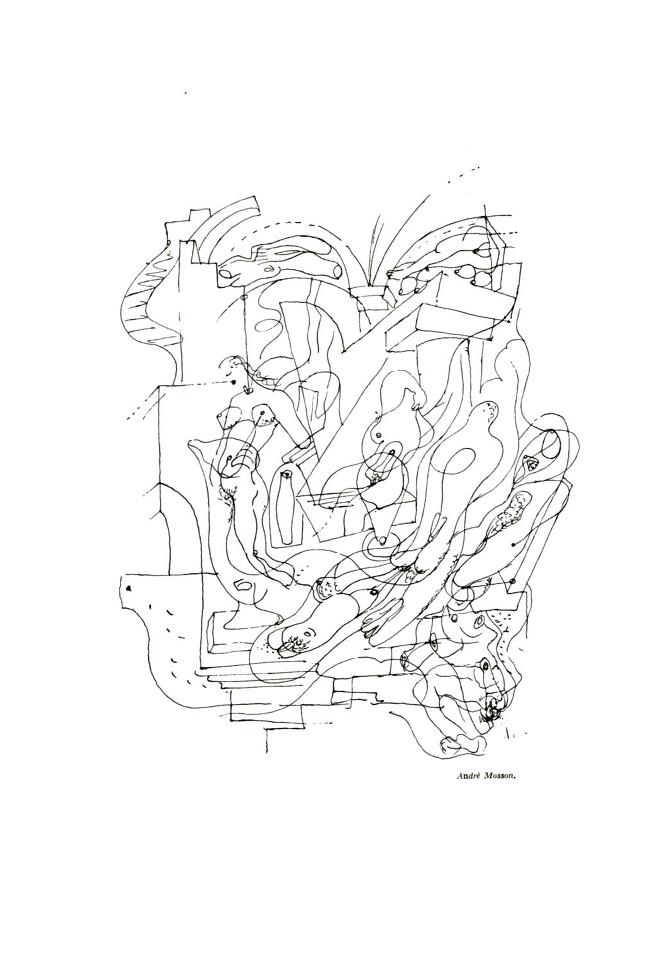 André Masson  Automatic Drawing