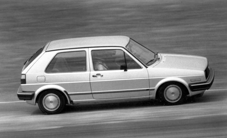My fourth car, Volkswagen Golf. no sweet memories...