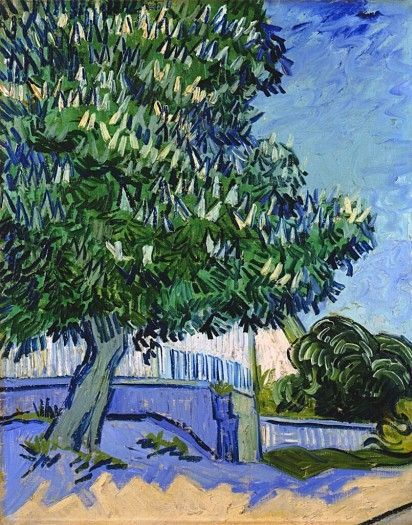 Bloeiende kastanjebomen - Vincent van Gogh (1853 - 1890)