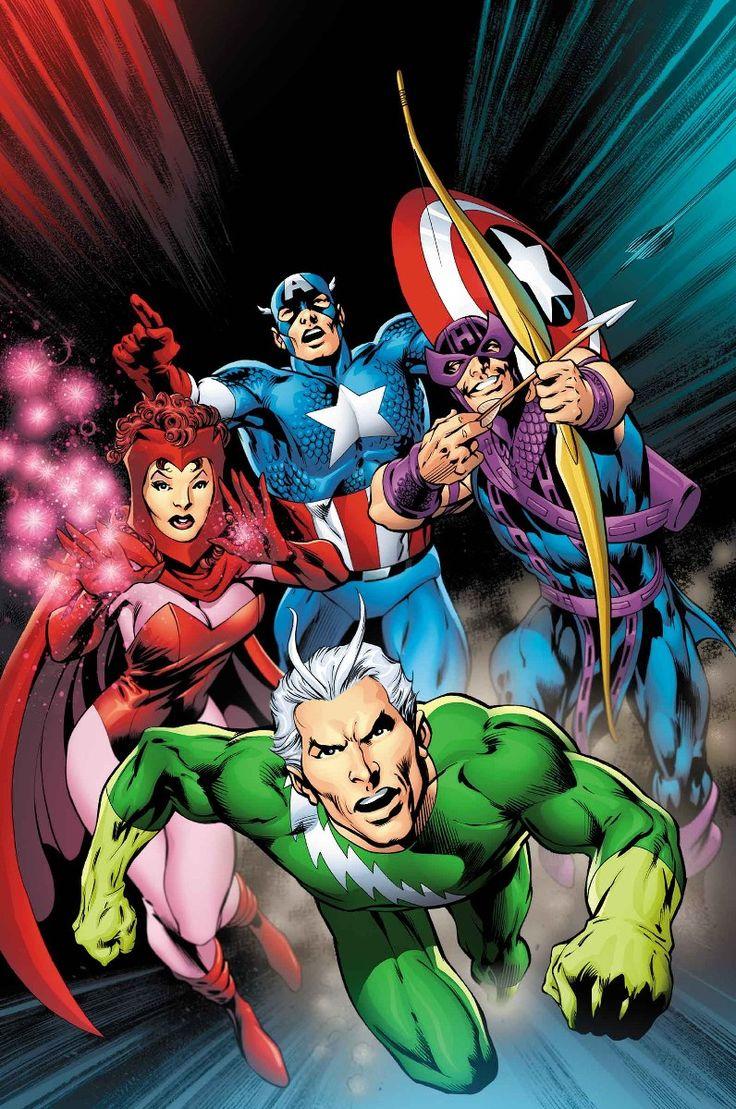 Avengers by Alan Davis