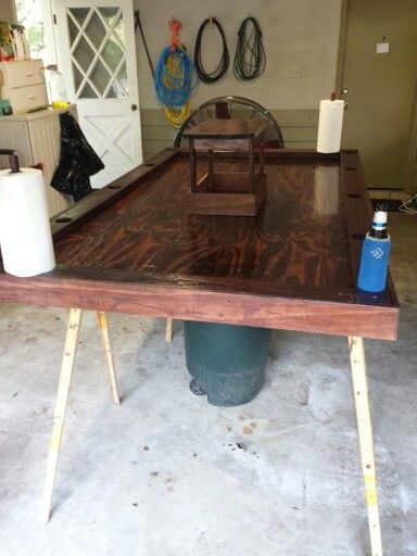17 Best Images About Crawfish Table Build On Pinterest