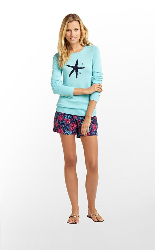 So cute for the beach...Lily Pultizer Charter Sweater