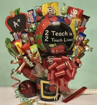 A+ Teacher Candy Bouquet