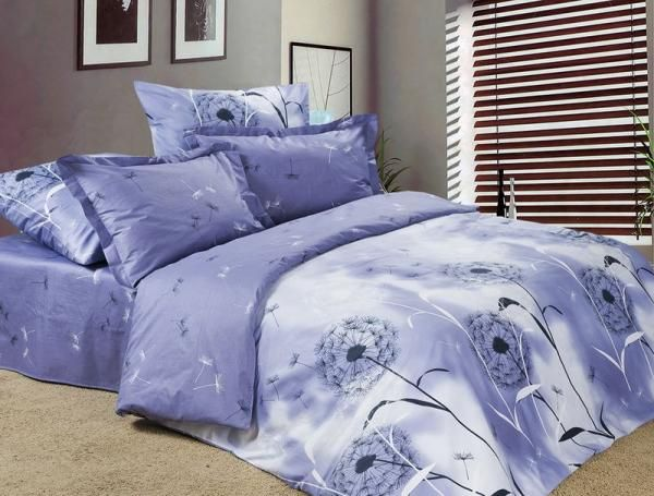 Постельное бельё из сатина 2 спальное - А - Жанна