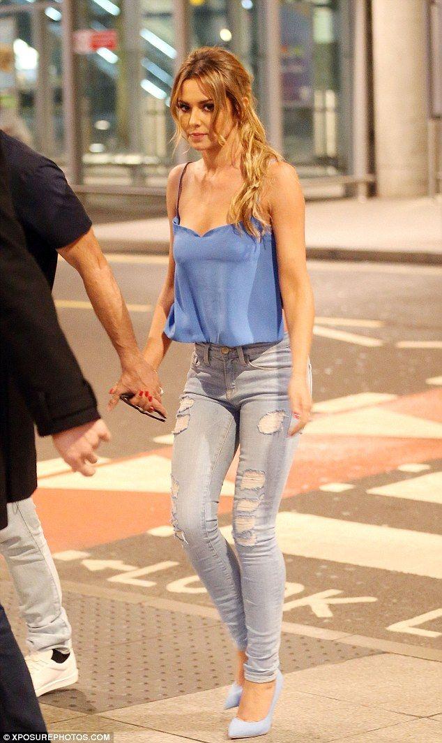 Cheryl blue dress x factor imagine
