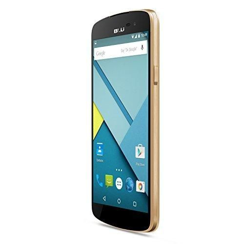 BLU Studio X Plus - US GSM - Unlocked Cell Phone - Gold