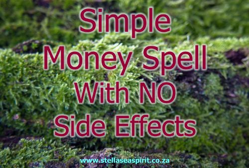 A regular money spell with no side-effects only cumulative benefits :) {Double-click the pic to read how to do it!}