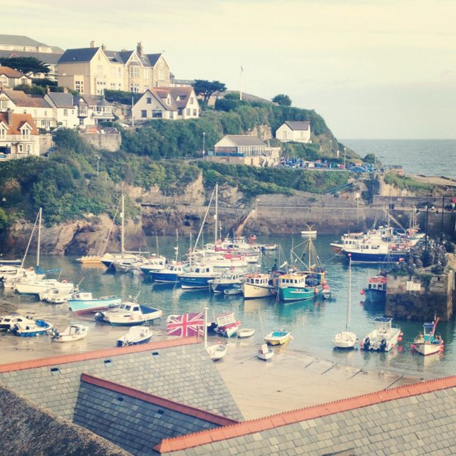 Newquay harbour in Cornwall. Miss this place like crazy!