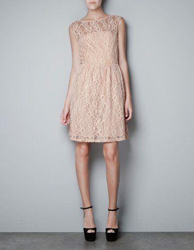 Sukienka na ślub cywilny, Zara, 369zł