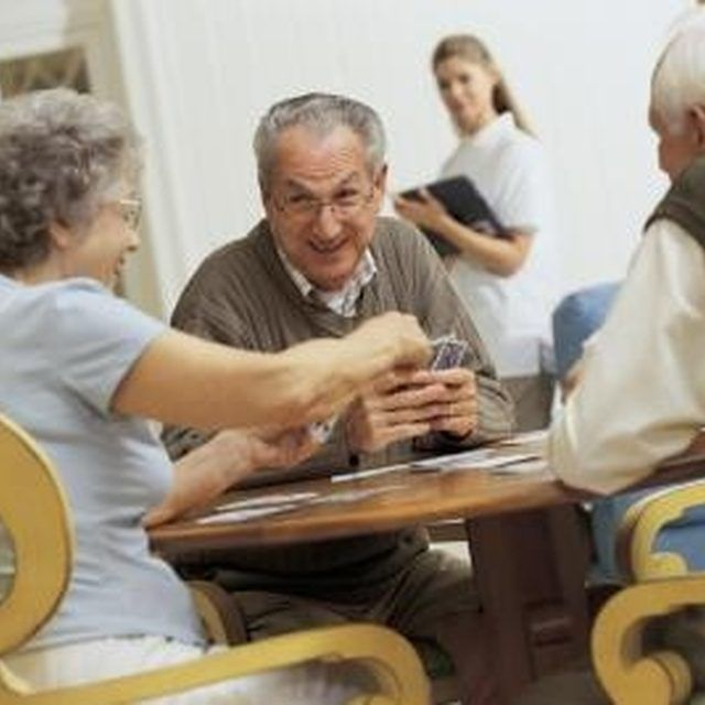 Games help senior citizens improve their memory.