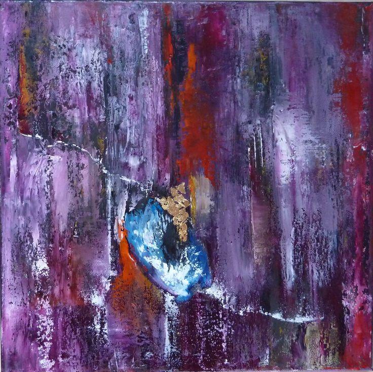 Best 25 peinture abstraite contemporaine ideas on - Peinture contemporaine au couteau ...
