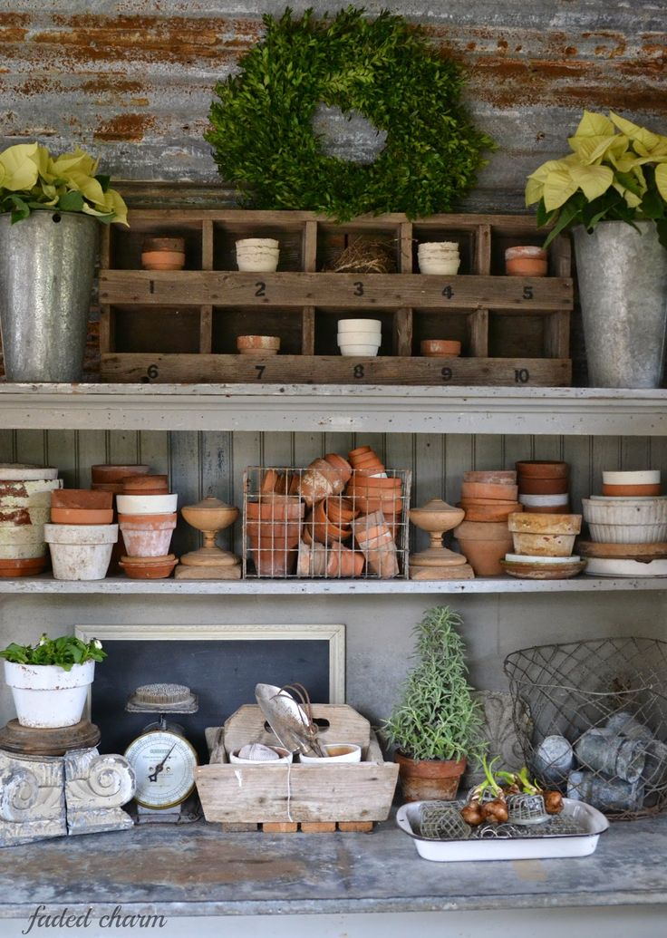 potting shed / garage More