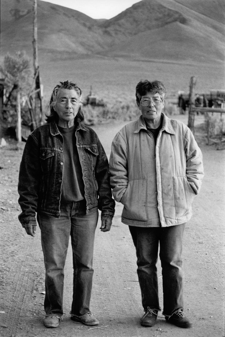 Mary And Carrie Dann, Crescent Valley, Nevada, 1992, From The Book