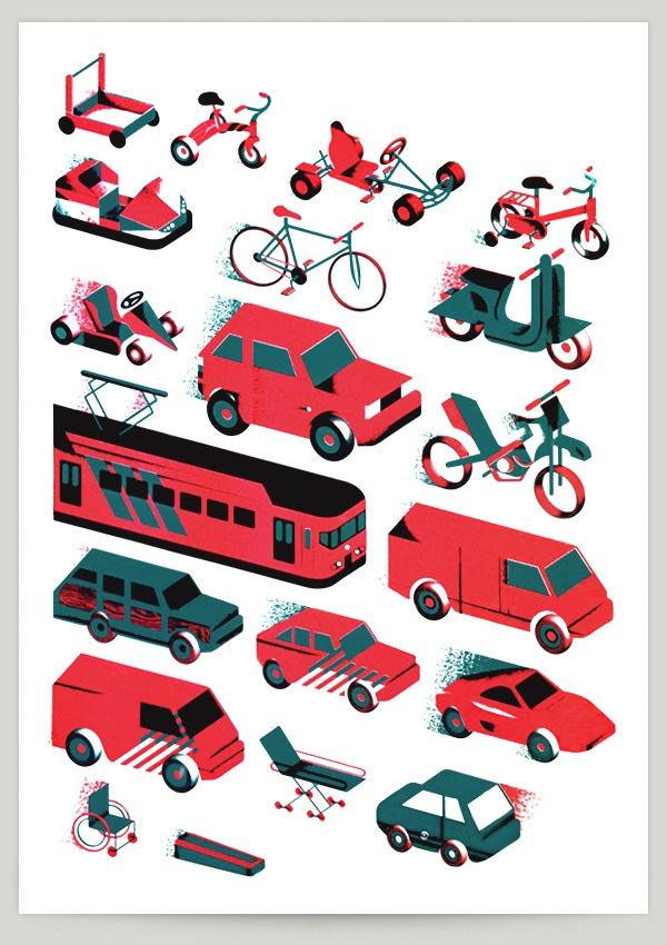 road hogs / Aron Vellekoop León #ART #design #transportation #city #YOTELNYC