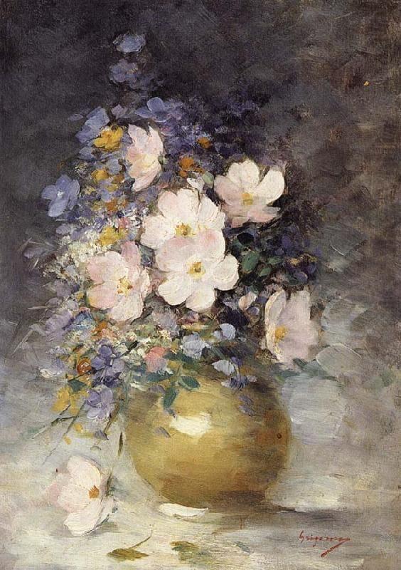Hip Rose Flowers, Nicolae Grigorescu