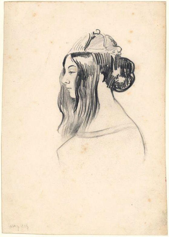 George Sand par Musset