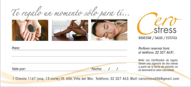 Cero Stress - Gift Card