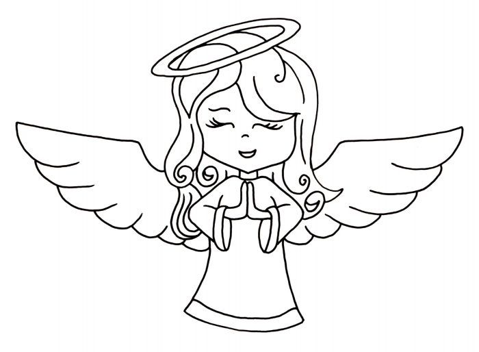 Dibujos De Angeles Para Colorear E Imprimir Gratis Angeles Para Colorear Angeles Dibujos Dibujos