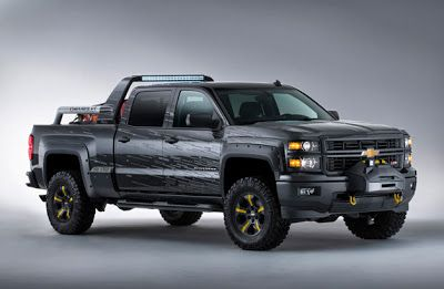 Westside Chevrolet Houston,TX: Chevy Shows off Silverado Black Ops, Volunteer Fir...