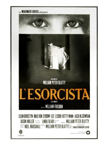 The Exorcist, (AKA L'Esorcista) foreign original release poster