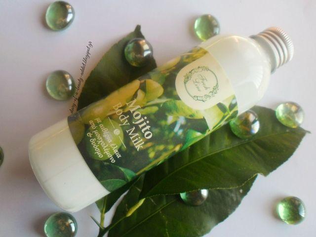 Fresh Line Mojito Body Milk : Review