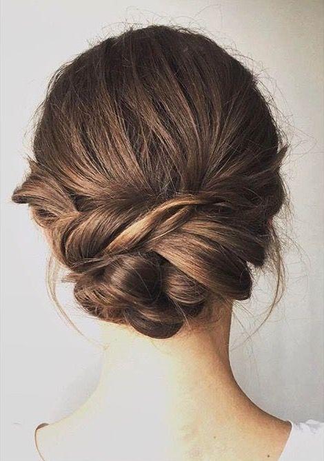 Bridesmaid hair | Bridal updo hairstyle