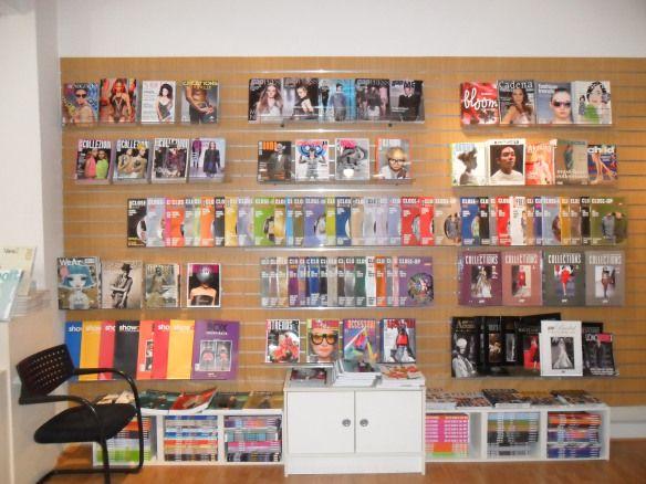 Best magazine shops in London buy fashion magazines London RDFranks 2011 Claire de Rouen magazines Wardour News magazines Soho magazine shop...