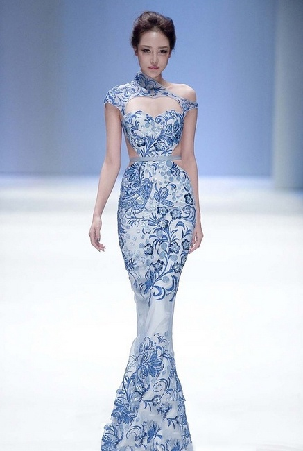Using the cultures for my next textiles project! I love this Chinese influenced dress.