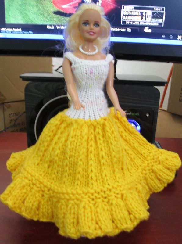 Barbie Clothes Knitting Patterns Free