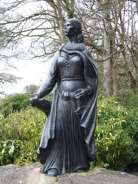 Grace O'Malley, most famous female pirate of Ireland, 16th century