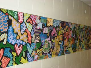 WHAT'S HAPPENING IN THE ART ROOM??: End of the YEAR Collaboration PROJECT