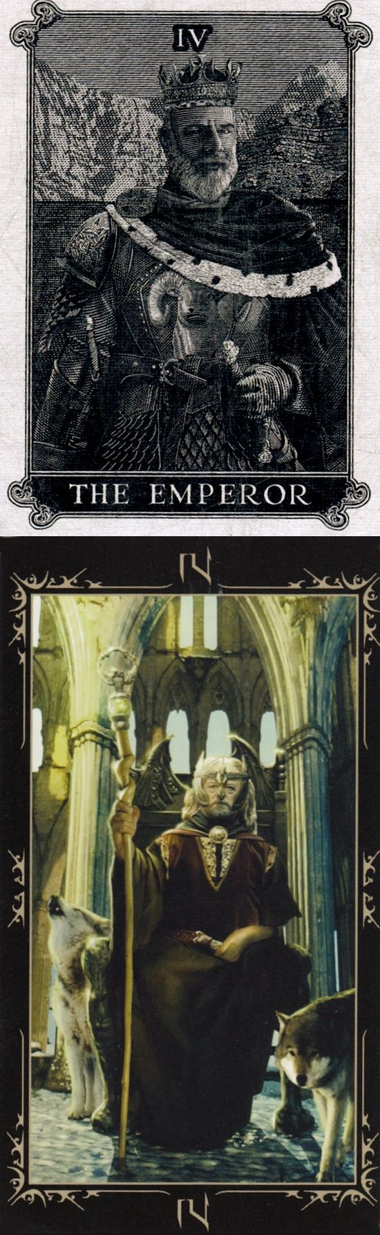 THE EMPEROR: control and too much control (reverse). Arcana Tarot Tarot deck and Dark Fairytale Tarot deck: real free psychic readings, tarot shirt and tarot mucha. Best 2018 oracles cards and playing card tattoo ideas. #pentacle #androidapplication #pumpkin #ios #iosapp