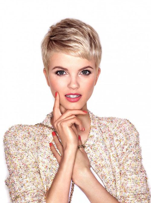 Fabulous 1000 Ideas About Blonde Pixie Cuts On Pinterest Blonde Pixie Hairstyles For Men Maxibearus