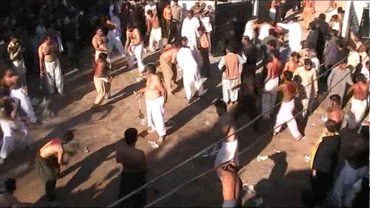 Muharram 10th zanjeerzani 2013