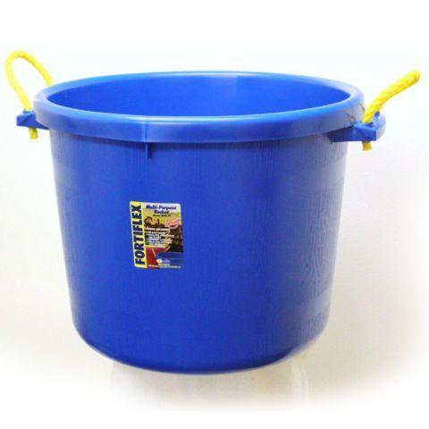 Fortiflex Large Capacity Plastic Bucket 17 5 Gal