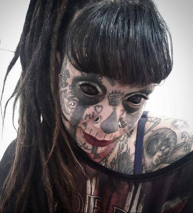 Extreme Tattooed Women