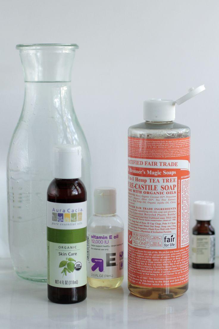 DIY Liquid Hand Soap Recipe Homemade, Almonds and
