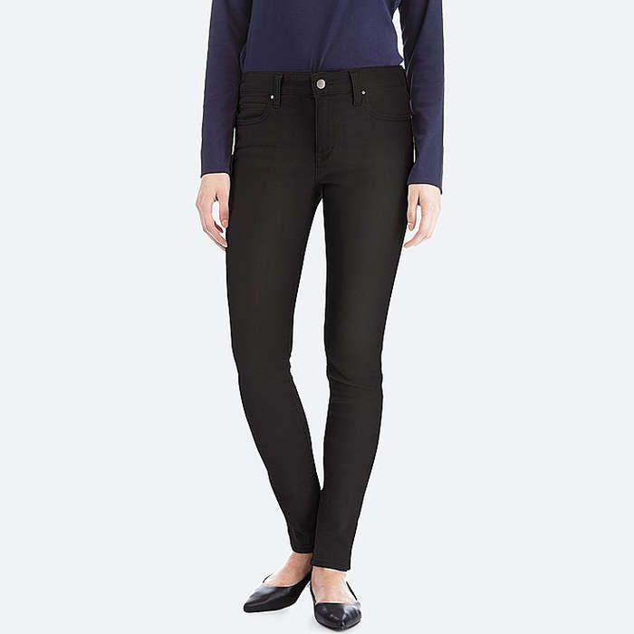 Rank & Style - Uniqlo Ultra Stretch Jeans #rankandstyle