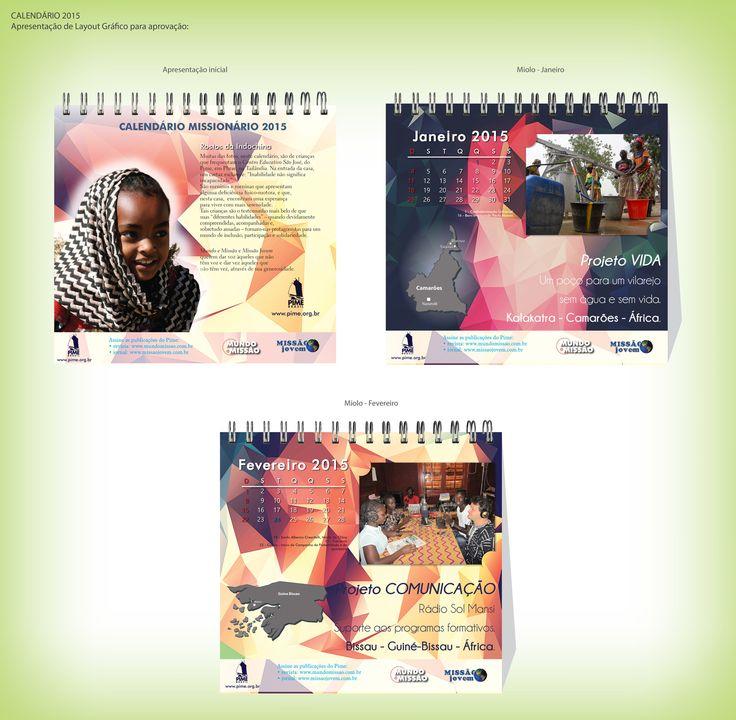 Calendário 2015 miolo - Editora Mundo e Missão