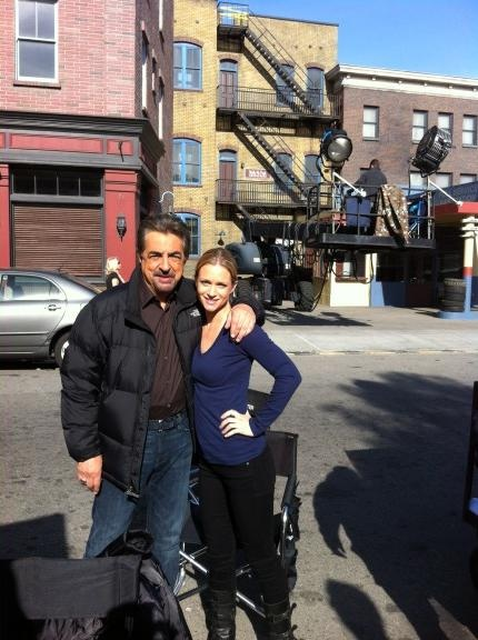 Criminal Minds Behind The Scenes (courtesy Joe Mantegna)