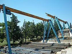 Γερανογέφυρα Τύπου Πυλώνα Ανοιγμα Έως 40μ Από 500Κg Έως 350Τn - Γερανογέφυρα Τύπου Πυλώνας - Γερανογέφυρες
