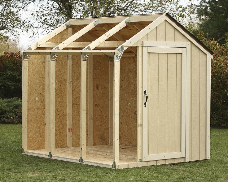 Found it at Wayfair - Shed Kit for Peak Roofhttp://www.wayfair.com/Hopkins-Shed-Kit-for-Peak-Roof-90192-HOPK1003.html?locale=en_US&refid=SBP.rBAZKFPvyYoCYnVvxTKJAgAAAAAAAAAAAAAAAAAAAAA
